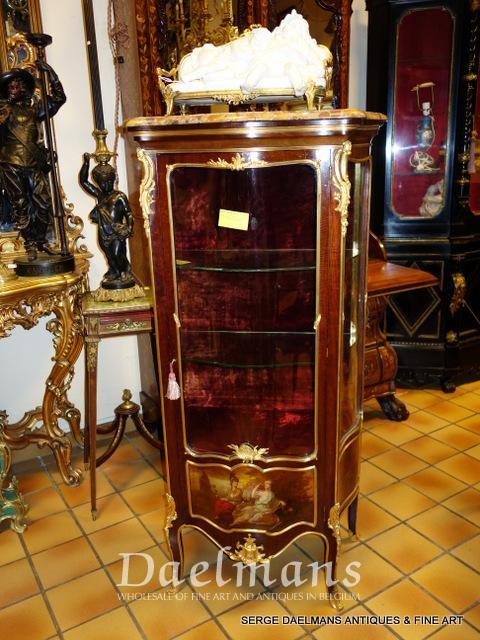 François Linke Louis XV vitrine - Furniture - Daelmans
